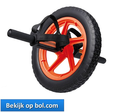 Powerline Power Wheel Buikspiertrainer